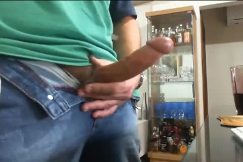 Daddy jerking off And Cumming In The End