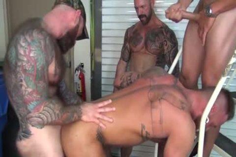 Michael Roman's group group-sex Part two