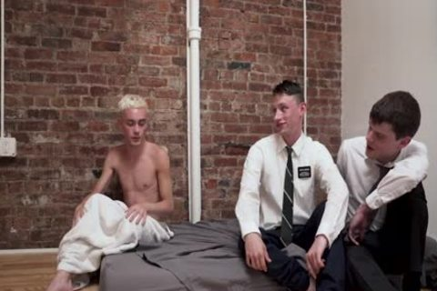 MormonBoyz - Two Jealous Missionaries bang Each Other For Their Boyfriend