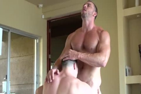Amazingly str8 FIT knobs Have horny Muscle Sex & nail HARD!