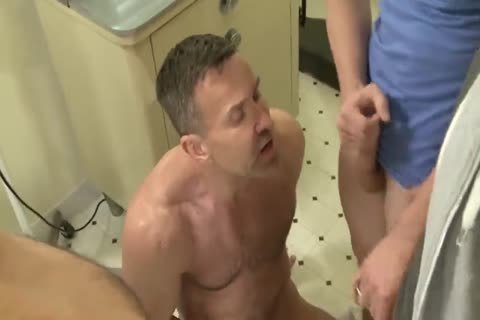 two attractive DADDYS fuck two MUCH YOUNGER guys