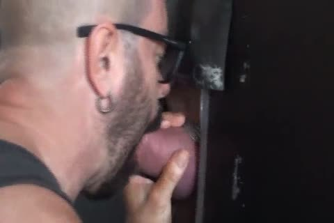 Beer Can ramrod receive blowjob