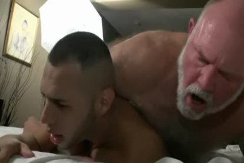 hairy grandad Has indecent Sex With A slutty juvenile rod