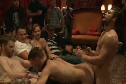 kinky Party Goers group gangbang - Brandon