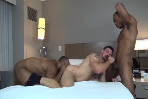 nailed By Two monstrous-dicked, black studs