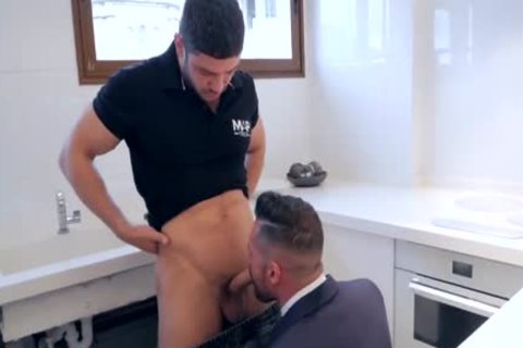 acquire His booty slammed By Plumber