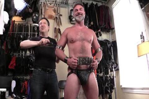 Serious Male bondage