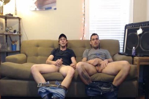 those boyz told They Were Straight, But They'd Still jerk off. They didn't Know The Camera Was On.