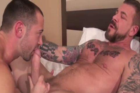 Rocco Steele fuck Donnie Dean (bare)