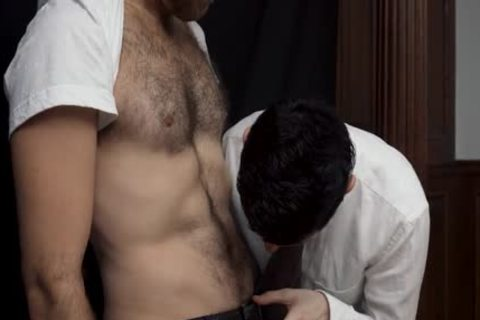 MormonBoyz - lewd Priest Punishes A young Missionary's ass