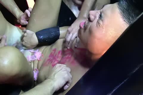 Japanese Hunk 77 gangbang