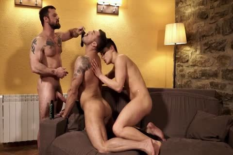 that dude loves Servicing Two cocks At The Same Time