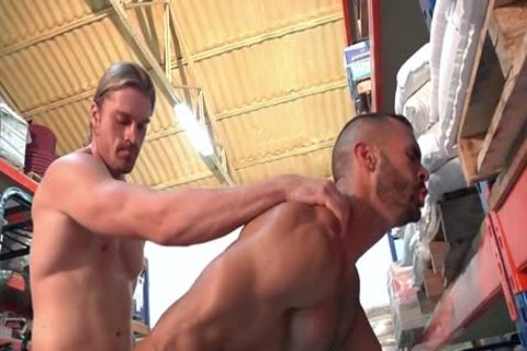 Two lusty Hunks Take Turns nailing Each Other.