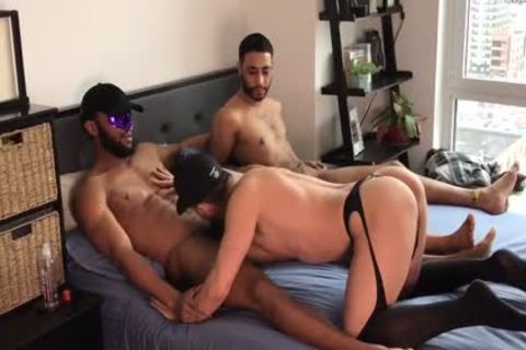 2 large dicks darksome TOPS - GETTING IT IN