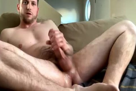 filthy Hunk wanking Off