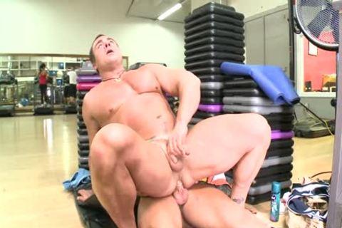 Doc Rock Aka The Rock, fucks In A Gym