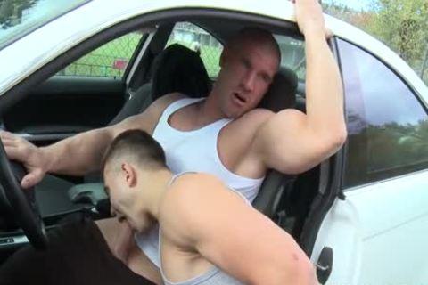 Public Sex In Car