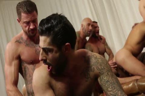bunch fuckfest - Rocco Steele