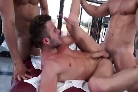 lovely Muscle guys Having pleasure