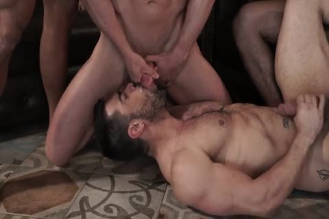 Sex-Party - Six fellows Have pleasure