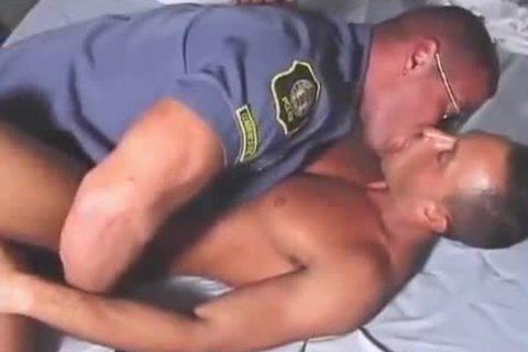 Bathhouse With pretty homo Cop