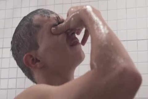 MormonBoyz - lustful Priest nails A man's Arsehole In The Shower