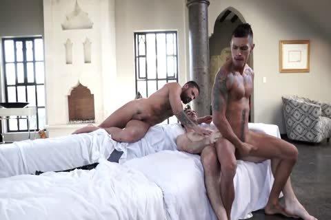 LATIN 3some WITH dildos