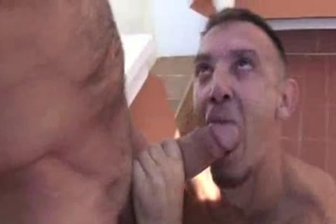 Daddy lad With throbbing dick
