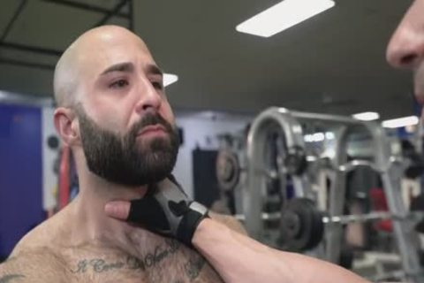 Atlas Barebacks Sir Jet At The Gym