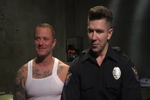 Defiant hooker acquire's Put In His Place By Hunk Cop.
