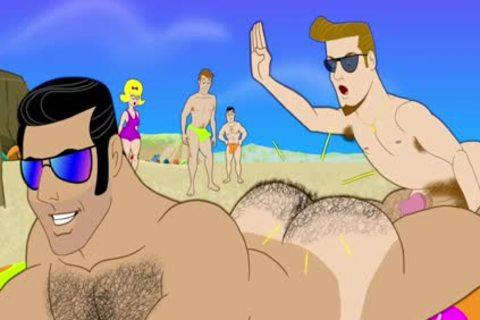 BEACH Males