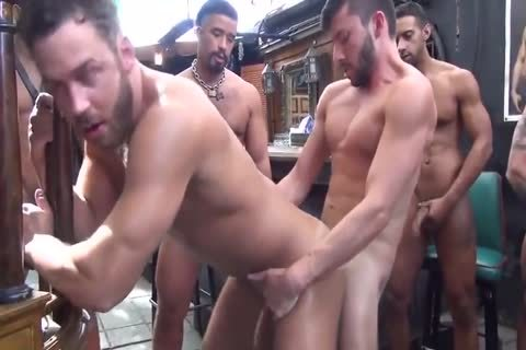 concupiscent homosexual Clip With Sex, gangbang Scenes