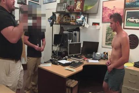 gay PAWN - juvenile str8 blond lad Has gay trio For Bail money