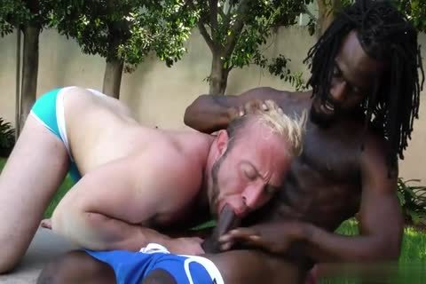Pool-side Sex Session Ends In The Bedroom