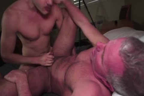 Super horny Daddy Got Rimmed And Creampied