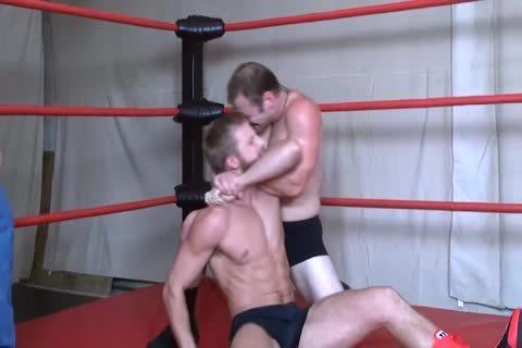 DC Wrestles A Blond Hunk