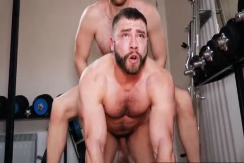 concupiscent homosexual video Scene With Large ramrod, Hunk Scenes