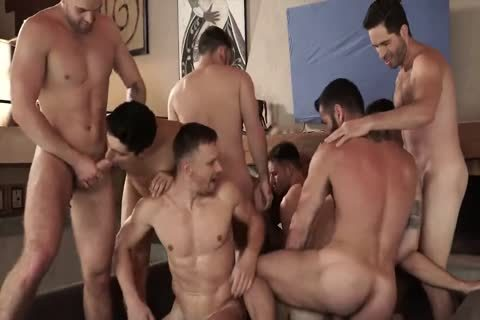 bare With 11-man's orgy