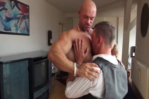 Sascha Zalman, gigantic Muscle Worship And plowing