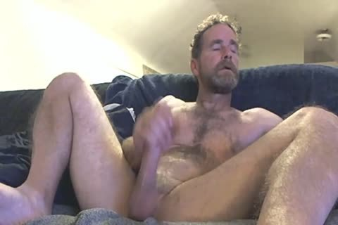 daddy Fingering His 10-Pounder In Front Of The Camera