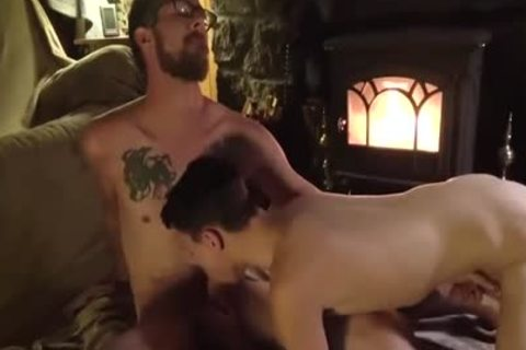 daddy And twink At Family Cabin Retreat