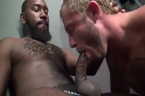 trio raw drilling With muscular young homosexuals