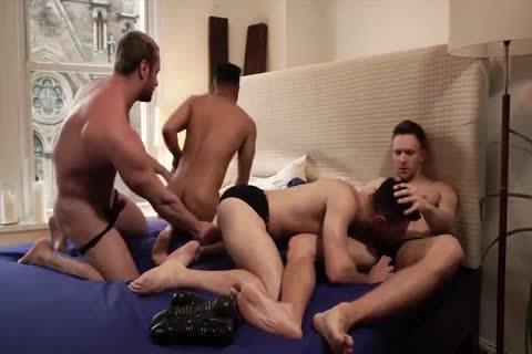 horny orgy raw