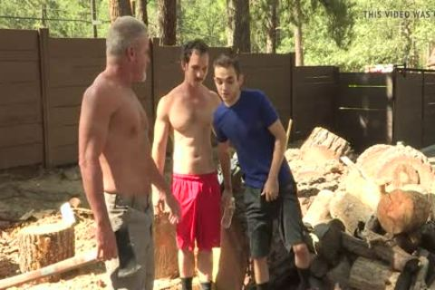 lustful twink pounds His muscular Stepgrandpa And Stepdad