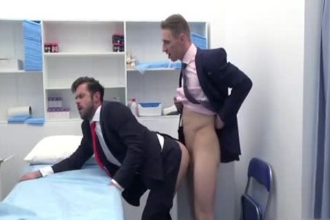 large penis Doctor a bit of anal With cumshot