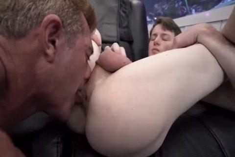 dad bangs Son naked