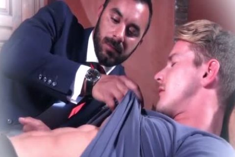 Muscle gays butthole sex And ejaculation