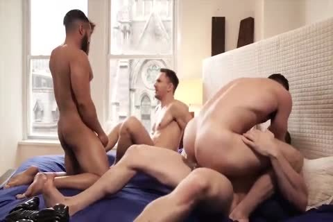 White homo painfully Barebacked Sex