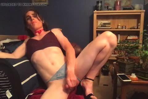 webcam Daddy Makes Me Finger My ass Until I spooge