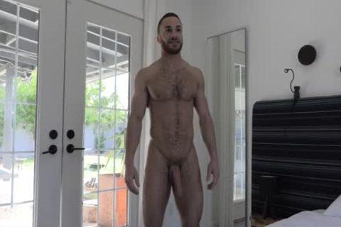brawny hairy Kent Little Interview With Mastubation